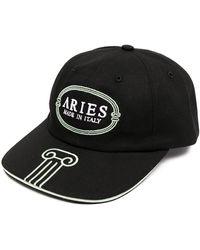 Aries ロゴ キャップ - ブラック