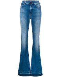 Jacob Cohen - Flared Leg Jeans - Lyst