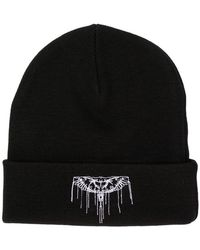 Marcelo Burlon - Stitched Wings Beanie - Lyst