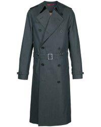 Loveless - Oversized Double Breasted Coat - Lyst