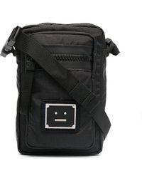 Acne Studios Мини-сумка Через Плечо С Логотипом - Черный