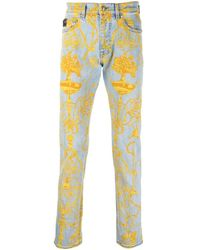 Versace Jeans Couture Tuileries ストレートジーンズ - ブルー