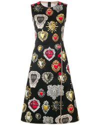 Dolce & Gabbana - Sacred Hearts Dress - Lyst