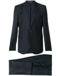 Karl Lagerfeld Pinstriped Suit - Blue