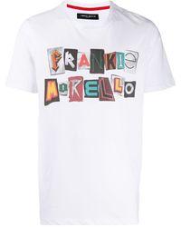 Frankie Morello ロゴ Tシャツ - ホワイト