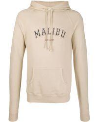 Saint Laurent Худи Malibu - Естественный