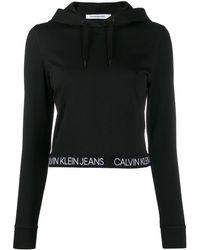 Calvin Klein Felpa con cappuccio - Nero