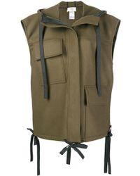 Ports 1961 - Sleeveless Military Jacket - Lyst