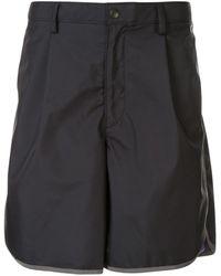 Kolor Short à bordures contrastantes - Noir
