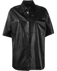 Brunello Cucinelli Рубашка С Короткими Рукавами - Черный