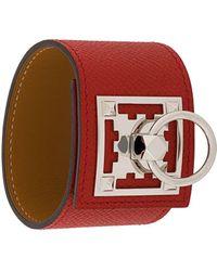 Hermès Браслет С Мозаичной Аппликацией - Красный