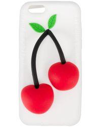Natasha Zinko Cherry Iphone 6 Case - Wit