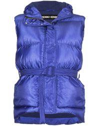 Ienki Ienki - Belted Puffer Vest With Hood - Lyst