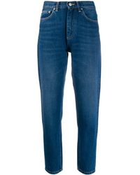Carhartt WIP Cropped Page Jeans - Blue