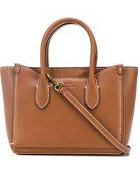 Polo Ralph Lauren Small Logo Tote Bag - Brown