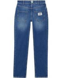 Burberry Straight Jeans - Blauw