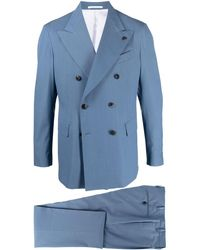 Gabriele Pasini Two Piece Double Breasted Suit - Blue