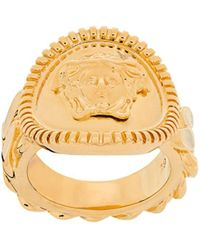 Versace Ring im Kettendesign - Mettallic