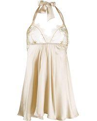 Gilda & Pearl Harlow ベビードール ドレス - ナチュラル