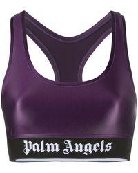 Palm Angels Спортивный Бюстгальтер С Логотипом - Розовый
