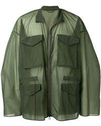 OAMC - Oversized Military Jacket - Lyst