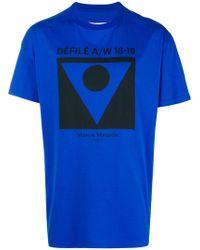 Maison Margiela - Printed T-shirt - Lyst