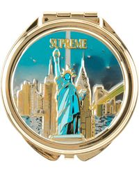 Supreme Ny Pill Box 'fw 18' - Metallic