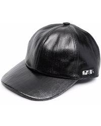 Rick Owens Drkshdw Бейсболка С Нашивкой-логотипом - Черный