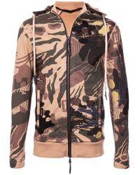 Boris Bidjan Saberi 11 - Abstract Desert Camouflage Hoodie - Lyst