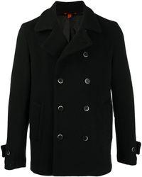 Barena Двубортное Пальто - Черный