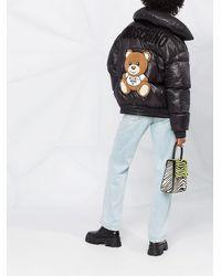 Moschino Пуховик Teddy - Черный
