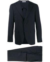 Boglioli Single-breasted Suit - Blue