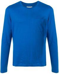Kent & Curwen T-shirt con design color-block - Blu