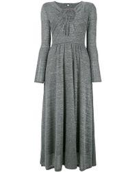 ALEXACHUNG - Key-hole Flared Dress - Lyst