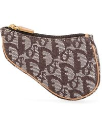 Dior Pouch Trotter Saddle Pre-owned - Marrone