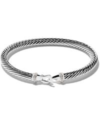 David Yurman - Cable Collectibles ダイヤモンド バングル - Lyst