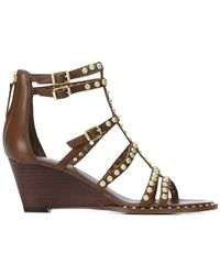 Ash - Studded Gladiator Wedges - Lyst