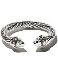 David Yurman Renaissance Cable cuff bracelet - Multicolore