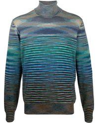 Missoni タートルネック セーター - ブルー