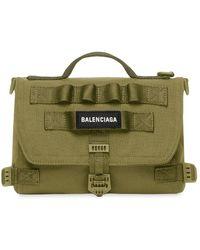 Balenciaga Army メッセンジャーバッグ S - グリーン