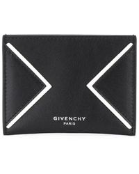 Givenchy Kartenetui mit Cut-Out - Schwarz