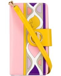 Emilio Pucci Heliconia Print Iphone Xs Cover - Yellow