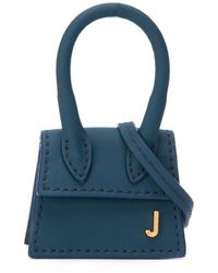Jacquemus Мини-сумка Le Chiquito - Синий