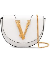 Versace Virtus ショルダーバッグ - ホワイト