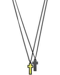 DSquared² Колье С Подвесками - Многоцветный