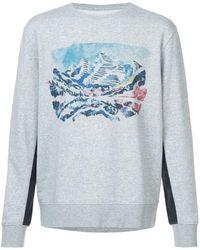 Aztech Mountain Crater Lake Sweatshirt - Grey
