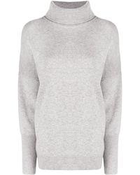 Chinti & Parker タートルネック カシミア セーター - グレー