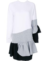 Ioana Ciolacu - Colour-block Frill Dress - Lyst