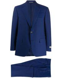 Canali Costume classique - Bleu
