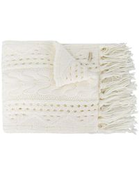 Woolrich - Cable-knit Scarf - Lyst